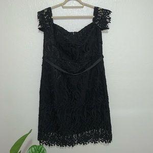Black off the shoulder sweetheart neckline Dress